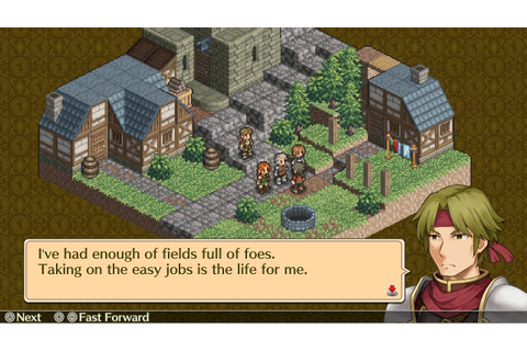 Mercenaries Saga Chronicles Review | RPG Site