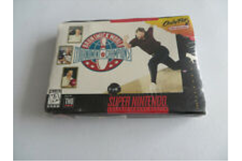 Brunswick World Tournament of Champions - SNES | eBay