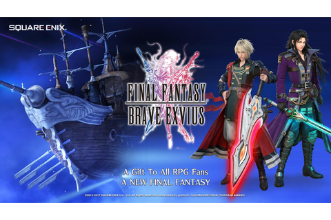 FINAL FANTASY BRAVE EXVIUS - Android Apps on Google Play