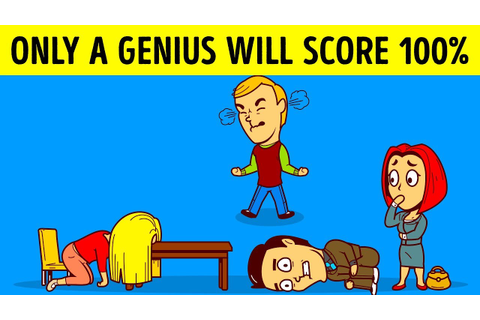 RIDDLES, IQ TESTS AND FUN BRAIN GAMES TO CHALLENGE YOUR ...
