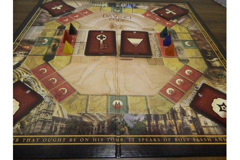 The Da Vinci Code Board Game Review and Rules | Geeky Hobbies
