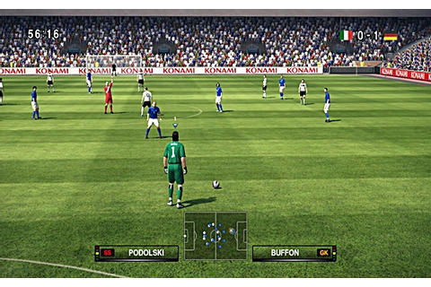 Pro Evolution Soccer 2010 Game - Hellopcgames