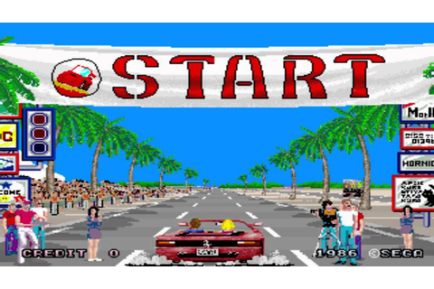 CdV 87: Out Run - Splash Wave (Arcade) - YouTube