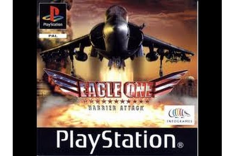 Ps1 Game: Eagle One Harrier Attack P2 - YouTube