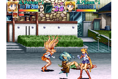 Play Arcade Pretty Soldier Sailor Moon (ver. 95/03/22 ...