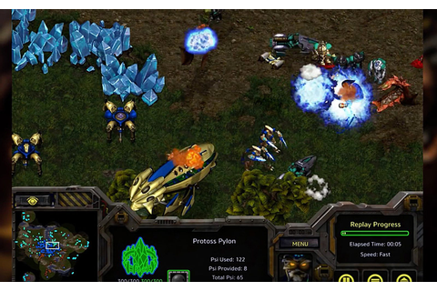 Classic 90s military SF strategy game StarCraft is now ...