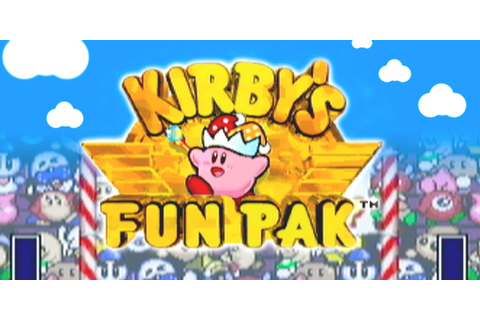Kirby's Fun Pak | Super Nintendo | Games | Nintendo