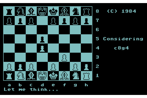 Colossus Chess 2.0 (1984) by CDS Software C64 game