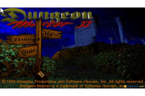 Dungeon Master 2: The Legend of the Skullkeep gameplay (PC ...