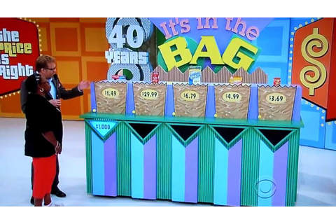 The Price is Right - Its In The Bag - 6/6/2012 - YouTube