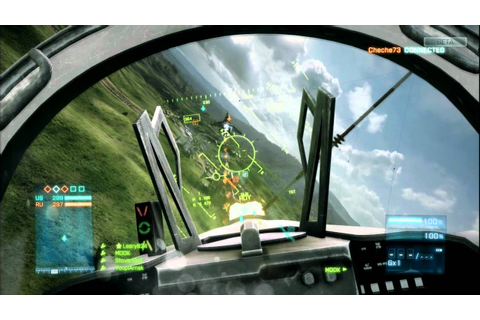 Battlefield 3 Jet fighter Game-play - YouTube