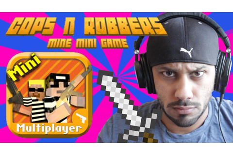 Cops N Robbers (FPS) - Mine Mini Game (iPhone HD Gameplay ...