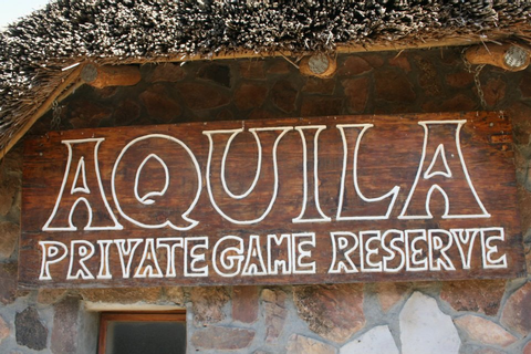 REVIEW: Aquila Private Game Reserve | From the balcony...