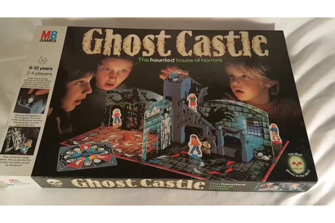 Vintage Classic Ghost Castle Board Game - The Haunted ...