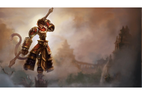 League Of Legends, Video Games, Wukong Wallpapers HD ...