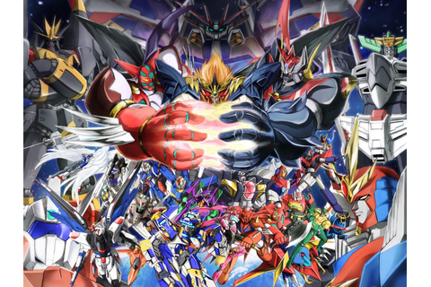 SUPER ROBOT TAISEN | Anime Super Robots | Pinterest ...