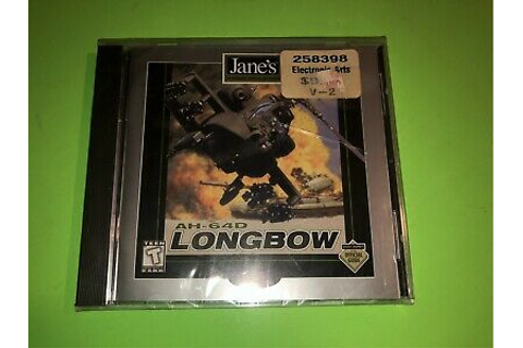 Jane's AH-64D Longbow PC Game Combat Simulation! NEW ...