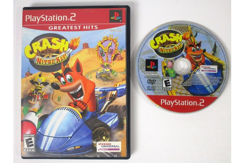 Crash Nitro Kart game for Playstation 2 | The Game Guy