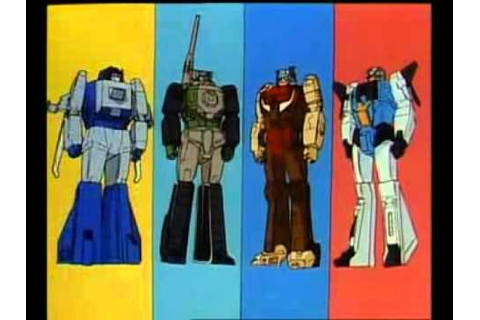 Transformers Headmasters - Opening + Ending - YouTube
