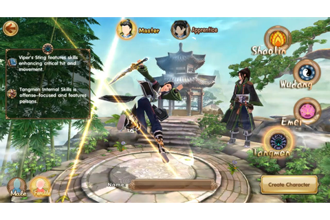 Age of Wushu Dynasty Gameplay (Tangmen) IOS / Android ...