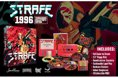 STRAFE® AVAILABLE TO PREORDER WITH SPECIAL RESERVE AND ...