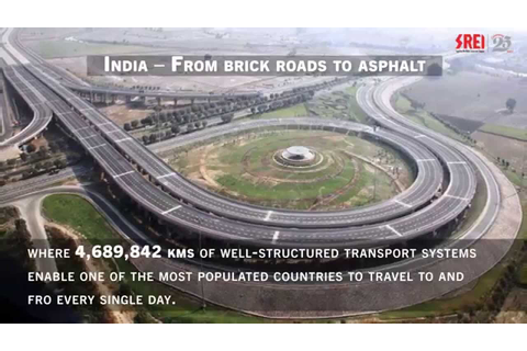 The Indian Road Network - YouTube