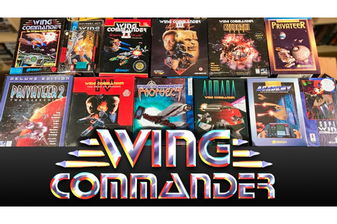 My WING COMMANDER collection - All the Games in BOX + Rare ...