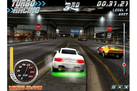 Jouer à Turbo Racing gratuitement | Jeux flash | Crazy Stuff