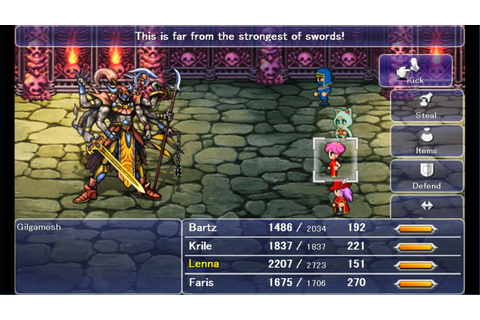 Final Fantasy 5 launches on Steam on Sept. 24 - Polygon