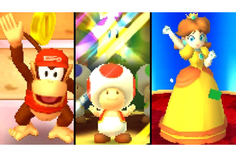 Mario Party Star Rush ALL GAME MODES (3DS) - YouTube