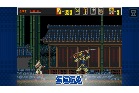 The Revenge of Shinobi joins SEGA Forever initiative on ...