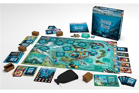 Days of Wonder Announces Deep Blue Board Game - Tabletop ...
