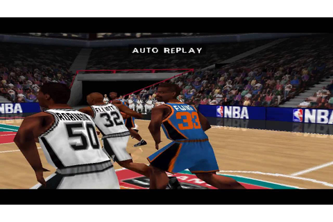 NBA Live 99 PS1 Gameplay HD - YouTube