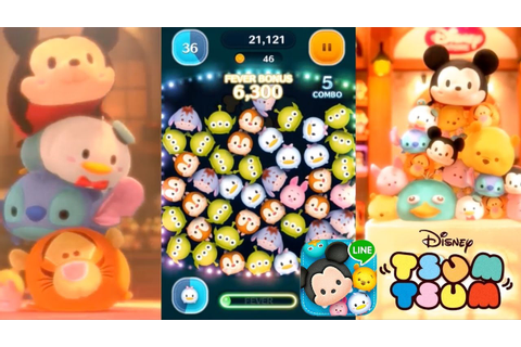 Let's Play Line: Disney Tsum Tsum - First 15 Mins & In-App ...
