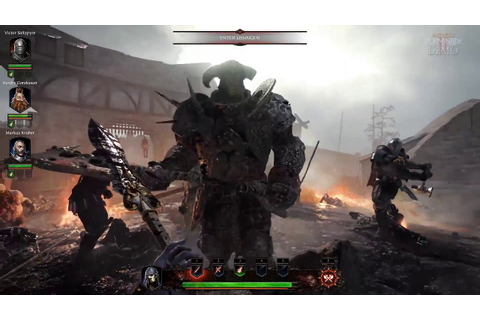 Warhammer Vermintide 2 - First Official Gameplay Trailer ...