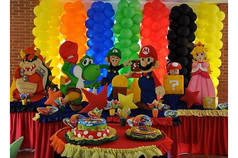 Party Frosting: Mario Brothers Party Theme!