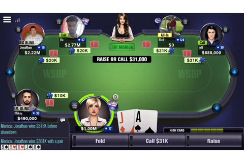 How to Lose $1,000,000 + (World Series of Poker) WSOP app ...