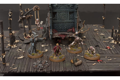 Showcase: Escape from Goblin Town Scenery from The Hobbit ...