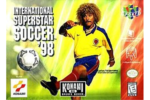 International Superstar Soccer 98 - Wikipedia