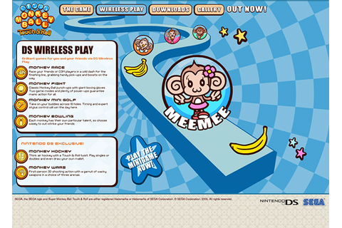 Super Monkey Ball - Touch and Roll on Behance