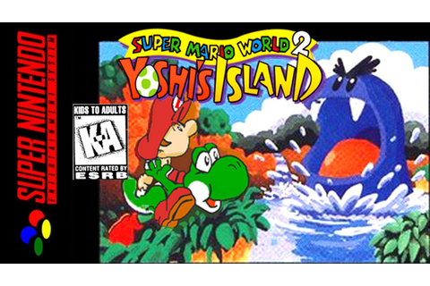 "[LONGPLAY] SNES - Super Mario World 2: Yoshi's Island ""100 ..."