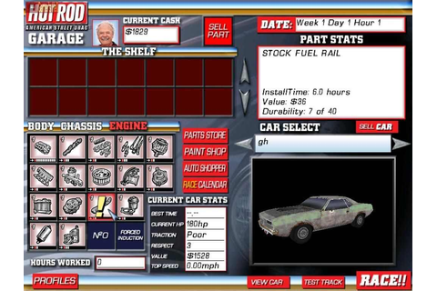 Hot Rod American Street Drag Download Free Full Game ...