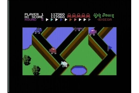 UP'N DOWN (C64 - FULL GAME) - YouTube