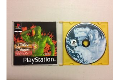 PS1 Army Men: Operation Meltdown | eBay