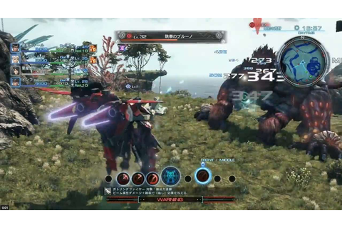 Xenoblade Chronicles X Gameplay Showcased
