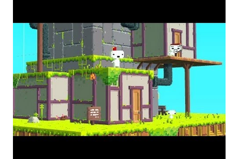 50 Minutes Of.....FEZ PC Gameplay - YouTube