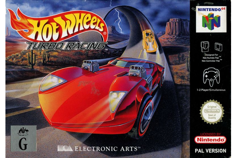 Hot Wheels: Turbo Racing for Nintendo 64 (1999) - MobyGames