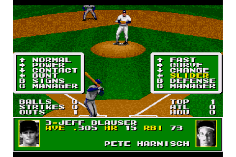 Tecmo Super Baseball Game Download | GameFabrique