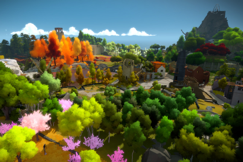 The Witness is an exhilarating and infuriating puzzle game ...