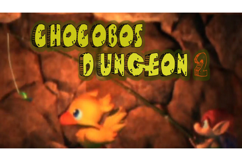 Let's Look at Chocobos Dungeon 2 - YouTube